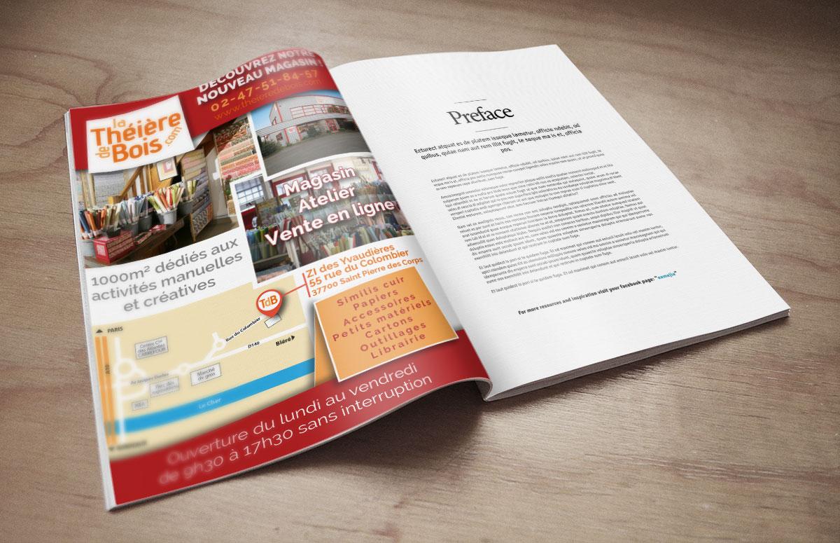 Publicité pour La Théi u00e8re de Bois Coz # La Theiere De Bois Versailles