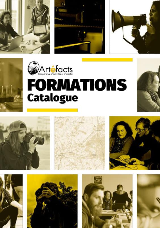 catalogue de formation Artefacts